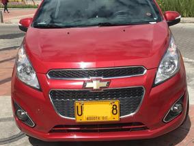 Chevrolet Spark Gt 2015 Rojo 5 Puertas Perfecto Estado
