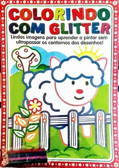 Revista Colorindo Com Glitter Lindas Imagens Para Pintar