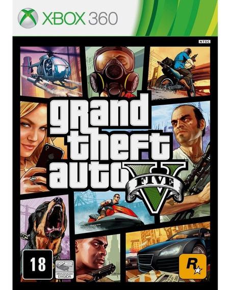Gta 5 Xbox 360 Mídia Digital Envio 10 Min
