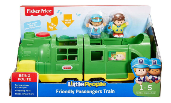 Fisher-price Little People Trem Com Frases E Músicas