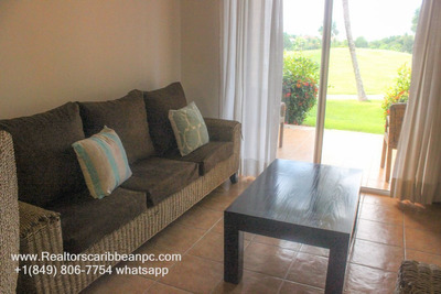 Cocotal Golf Suite Golf View 2br Fullyfurnished Apartment 80mt2 Usd$115k