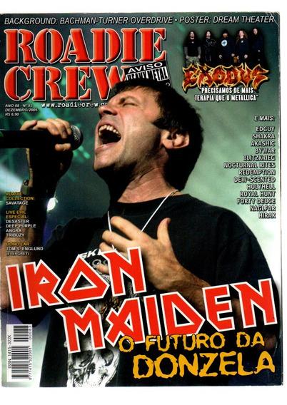 Roadie Crew Iron Maiden O Futuro Da Donzela Nº 83