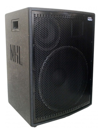 Caixa De Som Amplificada Full Range Ativa 1200w 15/6/ti Pro