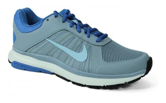 Tênis Nike Dart 12 Msl Cinza E Azul