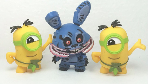 3 Funko Mystery Minis Five Nights At Freddy