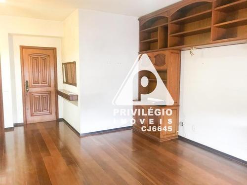 Apartamento À Venda, 3 Quartos, 1 Suíte, 1 Vaga, Laranjeiras - Rio De Janeiro/rj - 29359