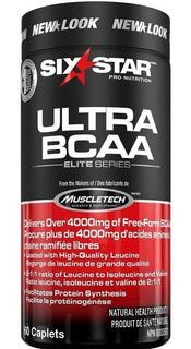 Ultra Bcaa Six Star Muscletech 60 Tablets 4000mg