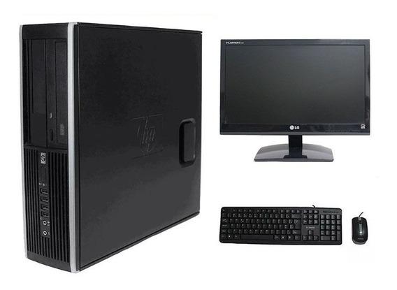 Computador Hp Elite 8300 I5 8gb 320hd Monitor 19 Polegadas