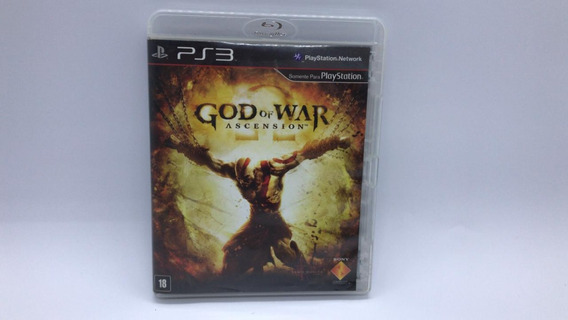 God Of War Ascension - Ps3 - Midia Fisica Cd Original