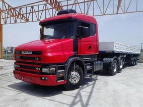 Scania 124 360 2002 Com Carreta Randon Raridade