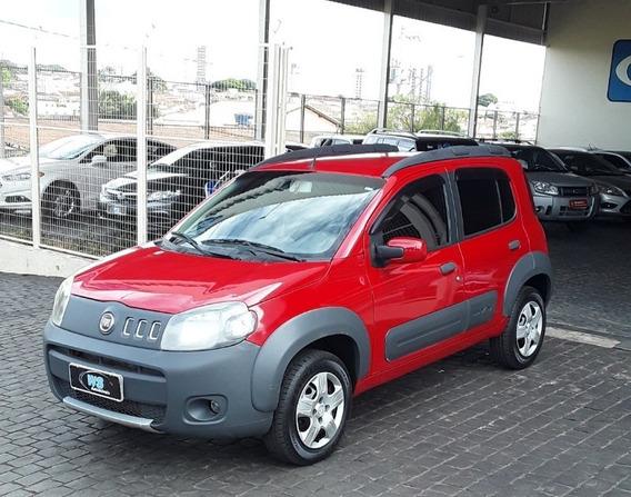 Fiat Uno Way Evo 1.0 Vermelho 2011