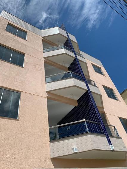 Apartamento Área Privativa Em Pedro Leopoldo 3 Quartos E Suíte - Cn1611