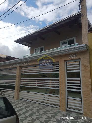Linda Casa De Cond., 2 Dorms. - Caiçara!!! - Vact454