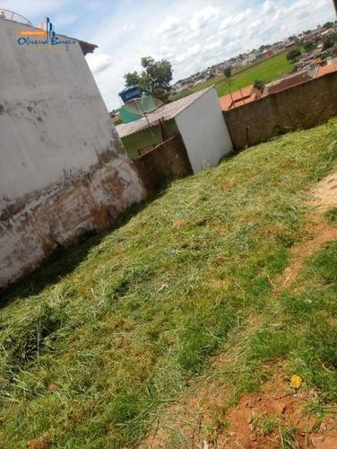 Terreno À Venda, 300 M² Por R$ 140.000 - Parque Das Primaveras - Anápolis/go - Te0650