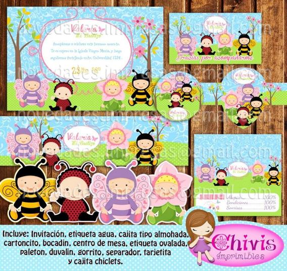 Kit Imprimible Infantil Nacimiento Editable O Personalizado