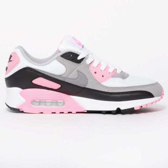 Nike Air Max 90 Og Pink Mujer Zapatillas Originales Cod 0183