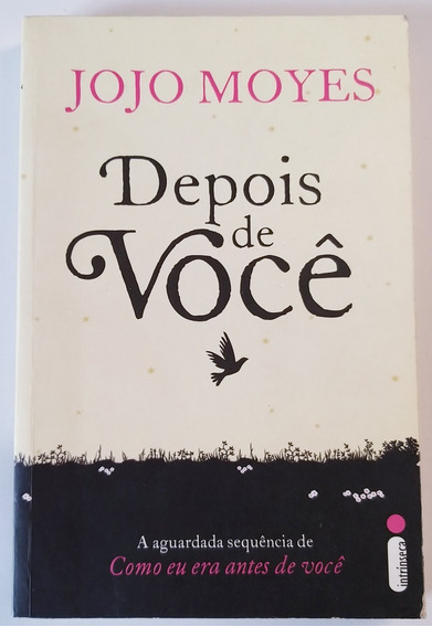 Livro Depois De Você - Jojo Moyes - Bom Estado