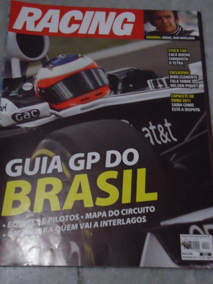 Racing Nº 297 - Gp Brasil 2011 Indy Dan Wheldon Porsche Cacá