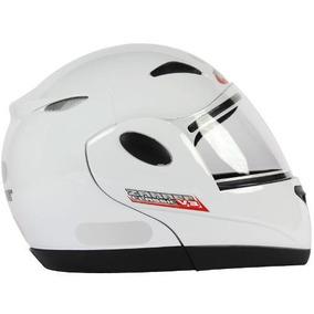 Capacete Zarref Classic V3 Branco N.60 Taurus Robocop