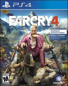 Jogo Far Cry 4 Ps4 Mídia Física Original Seminovo
