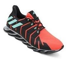 Tênis adidas Springblade Pro Feminino - Laranja E Preto