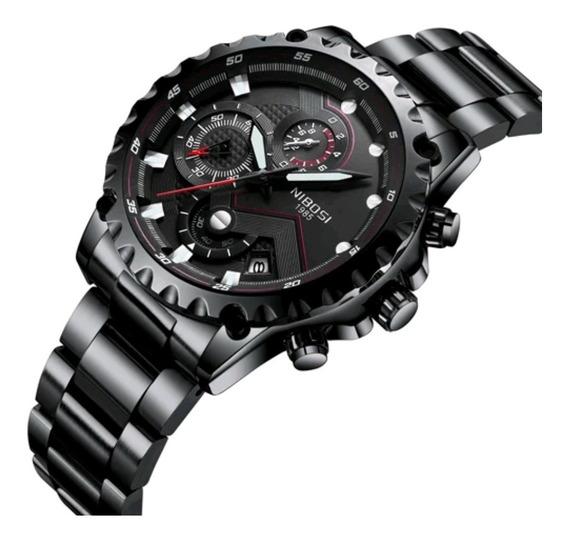 Relógio Masculino Nibosi 2322 Funcional Pronta Entrega