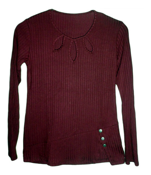 Camiseta Morley Dama Escote Tres Gota Talle Único