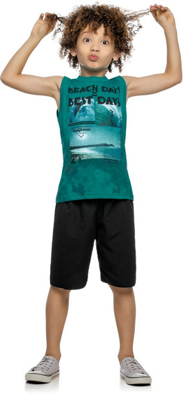 Roupa Infantil Menino 2 Conjuntos + 1 Camisetas - 12 Ao 16