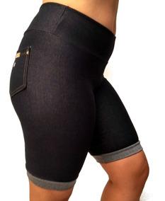 Kit3 Bermudas Roupa Feminina Leg Fake Imita Jeans Oferta