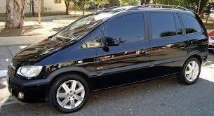 Chevrolet Zafira Elite +teto+couro +unico Dono ( Blindada )