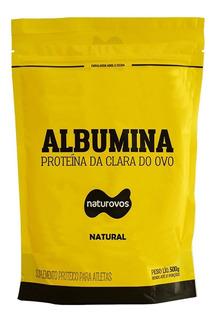 Albumina Refil - 500g Natural - Naturovos