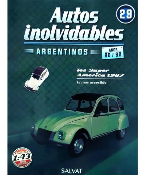Autos Inolvidables Años 80/90 N° 29 Ies Super America (1987)