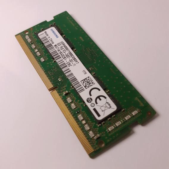Pente Memória 8gb Ddr4 Samsung Seminovo Para Notebook Laptop