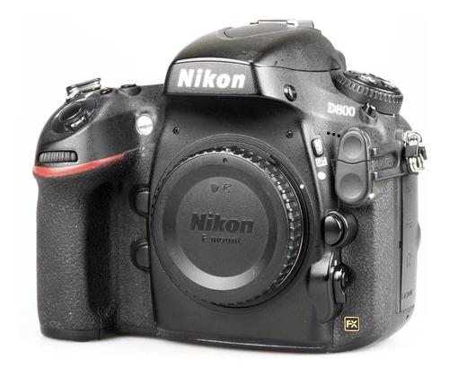 Imagem 1 de 6 de Câmera Dslr Nikon D800 Fullframe 36mp
