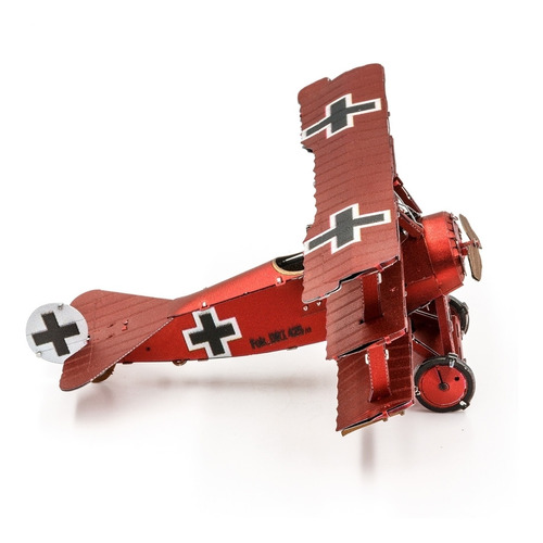 Avion Fokker Rojo Triplano Del Baron Von Richthofen