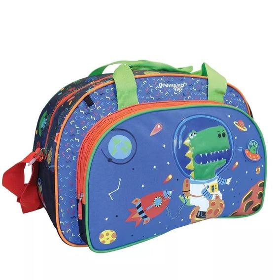 Bolso Infantil Gremond Kids Grande Dinosaurio 544030 Maple