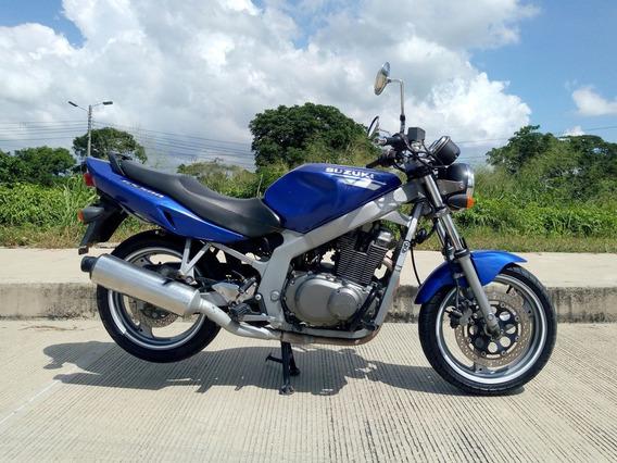 Suzuki Gs500 Azul