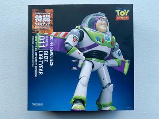 Sci-fi Revoltech Series No.011 Buzz Lightyear By Matsumoto E