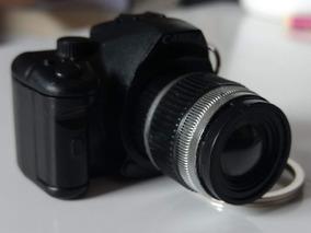 Chaveiro Câmera Fotográfica(acende Led E Faz Som De Disparo)