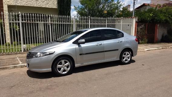 Honda City 2012 Lx Sedan 1.5 Automático Prata Só Venda