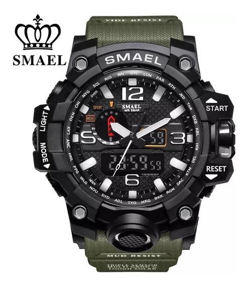 Relógio Masculino Original Smael Resistente À Água Digital