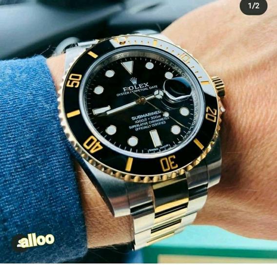 Reloj Automático Submarine Negro