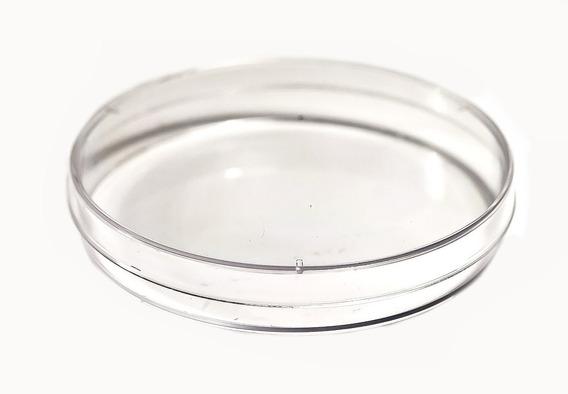 Caja Petri De Vidrio. 100 X 10 Mm. Esterilizable. 18 Piezas