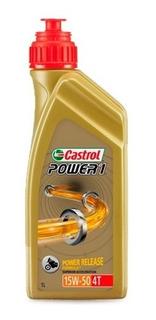 Aceite Castrol Power 1 4t 15w50 Semisintetico En Sti Motos