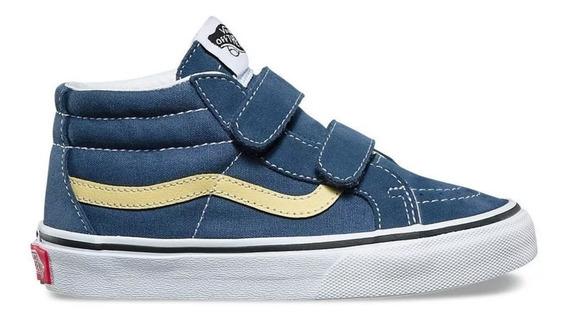 Zapatillas Vans K Sk8 Mid Reissue V Vintage Kids Unisex Azul