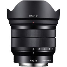 Lente Sony E 10-18mm F/4 Oss - Sel1018 + Recibo E Garantia
