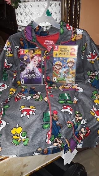 Mario Bros.pijama