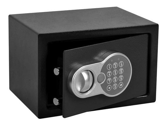Cofre De Segurança Fechadura Eletrônica Senha 31x20cm