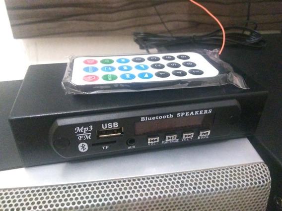 Modulo Bluetooth Para Som Com Entrada Auxiliar