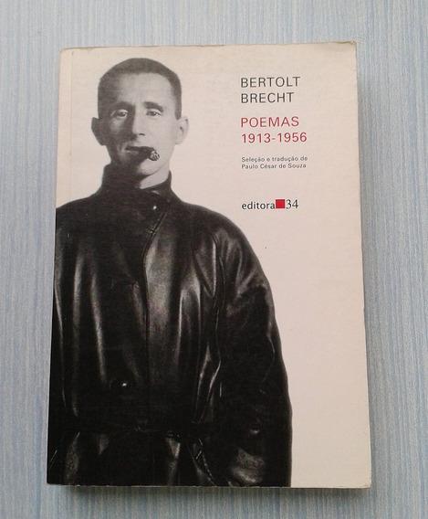 Livro Bertolt Brecht - Poemas 1913 - 1956
